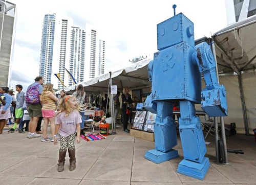 Rex the Nine-Foot Robot